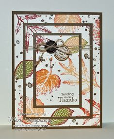 Stamping Inspiration: TECHNIQUE THURSDAY, Seamless Tiers / Triple Time With FREE Tutorial...