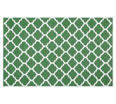 Becca Tile Reversible Indoor/Outdoor Rug, 2.5x9\', Blue   Indoor ...