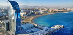 City Trips mit itravel. Ein Wochenende Barcelona im angesagten Hotel W ist ein ideales Geschenk zum Muttertag oder für sich selbst!