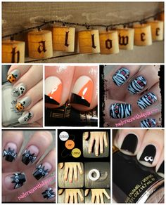 Nails For Halloween    #halloween #nails #tutorials #DIY