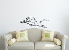 Wall Decal  Vinyl Sticker Animal Lion Wild Cat by VinylDecals2U, $24.65