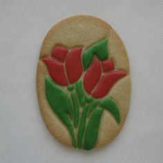 Tulips   Sugar Cookie   By Tamara