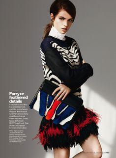 tali lennox by bjarne jonasson for us glamour august 2013