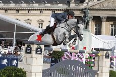 Paris 2014 Gallery - LONGINES GLOBAL CHAMPIONS TOUR - Kevin Staut and Silvana