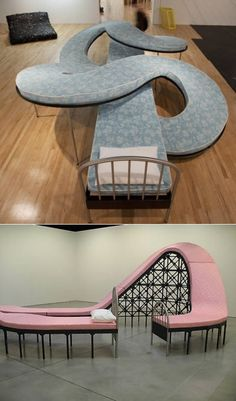Roller Coaster Bed... Maybe I could finally find a comfortable position with so many to choose from! ha!