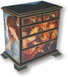 Decoupage on Furniture inspiration!