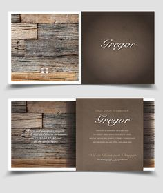 Cool boy birth announcement card wood leather / Stoer Geboortekaartje Jongen leer en sterren | Jutenjul design