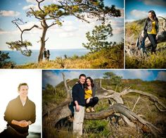 Sunflowers, champagne and a sunset make a romantic engagement shoot