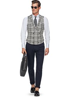 Suitsupply Waistcoat: Our tailored waistcoats are ideal to complement your style. Daily Fashion, Men's Fashion, Mens Fashion Blog, Mens Fashion Suits, Suit Supply, Man Dressing Style, Suit Vest, Men Style Tips, Gentleman Style