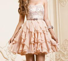 pink dress love