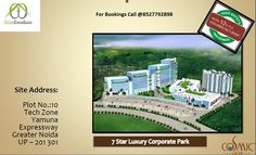 Office Spaces At Cosmic Corporate Park, Tech Zone, Greater Noida Delhi Ncr, Office Spaces, Green Building, Cosmic, Tech, Park, Projects, Tecnologia, Log Projects