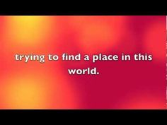 Taylor Swift - Place in this world (Lyrics on screen) - YouTube Slideshow Songs, Taylor Swift, Lyrics, World, Places, Youtube, Song Lyrics, The World, Youtubers