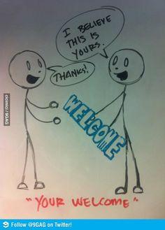 LOVE grammar jokes!  Haha just get it right!