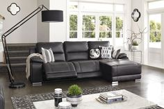Madrid Leather Powered Recliner Chaise by Synargy Lounge Suites, Sofa, Couch, Leather Recliner, Power Recliners, Madrid, Relax, Modern, Furniture