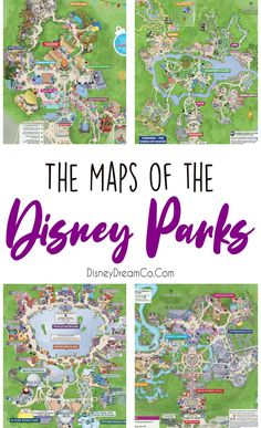 The Maps of Disney: WDW, DL, and more! - Disney Dream Co