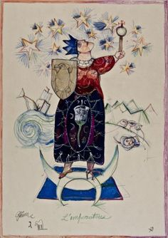 III. The Empress - Antonio Possenti Tarot by Antonio Possenti