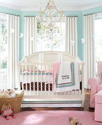 I would totally do this. If I had those windows. And that crib. And that light fixture. Yeah, I would totally do this.