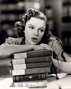 "Judy Garland in ""Strike Up the Band"" a 1940 American black and white musical film. (ana-bolton)"
