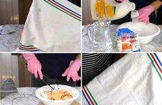 Con este truco eficaz siempre puedes tener tus paños y trapos de cocina totalmente limpios