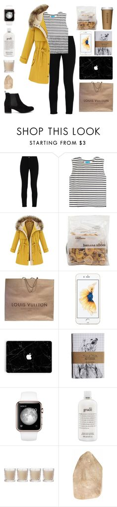 """""""Let's be birds.Where you wanna go just say the words."""" by nothing-like-the-rain1 ❤ liked on Polyvore featuring STELLA McCARTNEY, M.i.h Jeans, Louis Vuitton, philosophy and Shabby Chic"""