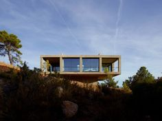 Sitting on the edge of Puertos de Beceite national park in Aragon, Spain, is Casa Solo Pezo, the first property in the Solo Office collection of cutting-edge, architect-designed vacation rentals.
