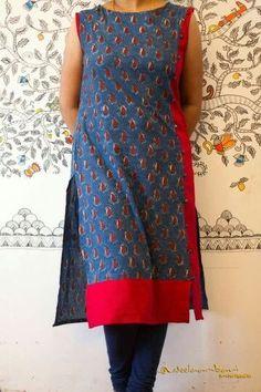 Different types of kurtis designs - Simple Craft Ideas Salwar Pattern, Kurta Patterns, Dress Patterns, Churidar Designs, Kurti Neck Designs, Blouse Designs, Indian Attire, Indian Wear, Pakistani Outfits