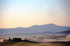 Val di Merse panorama, Tuscany