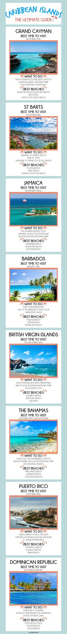 A Quick Guide To to The Caribbean Islands |Pinterest: @theculturetrip
