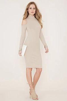 Open-Shoulder Midi Dress | Forever 21 #spring