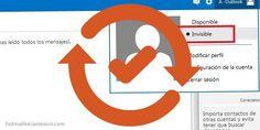 Aprende cómo realizar cambios de estado en Outlook.com