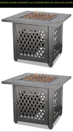 Endless Summer, GAD1429SP, Gas Outdoor Fireplace With Slate Mantel #tech  #parts #