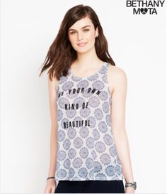 Bethany's Summer Collection now out in stores and online at Aeropostale