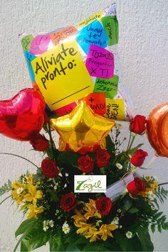 Flores y regalos con envío a domicilio en la ciudad de Cancún.  www.floreriazazil.com #floreriasencancun #cancunflorist