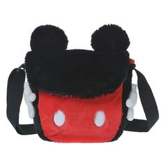 Mickey Plush Purse ~ Disney Store Japan