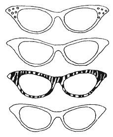 Coloring Pages Of Glasses Génial Glasses Coloring Pages Of