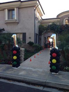 Disney cars themed party!