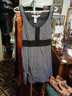 $20 Shipped. Max Studio Size L. (EEk! Sorry the picture is so wrinkly, it has been hanging up it's entire life with other dresses.)