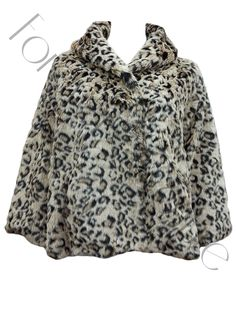 Animal Leopard Print Faux Fur Coat Product Code: 691 Pack of 6   Pieces Was £35.00 Now £25.00 per Piece VAT: 0%  FC