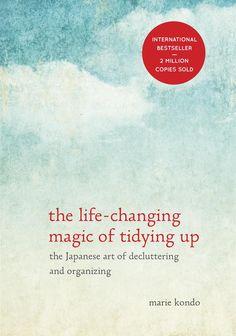 "The Life-Changing Magic of Tidying Up by Marie ""KonMari"" Kondo - HARDCOVER"