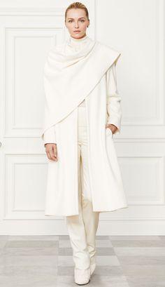Ralph Lauren Fall 2014 Collection Wool Blend Marielle Coat