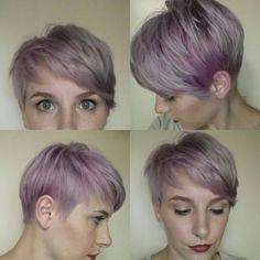 Lavender pixie | Purple pixie | Courtesy of Tasha Eash - Salon Kimistry, Ypsilanti, MI