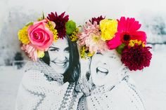 DIY 3D flower Photography Art Photo tutorial  Cute idea for Grad party photo, wedding shower, bday party, etc.