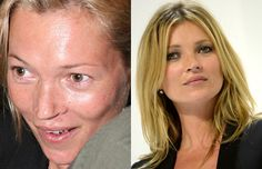 celebs without photoshop | 30 Shocking Photos of Hot Celebrities Without Makeup or Photoshop