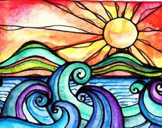 sun art – Etsy