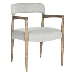 Pictures of Upholstered Mod Armchair - set of 2