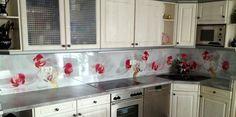 Küchenrückwand aus Alu-Verbund  #Kuechenrueckwand #Duschrueckwand #SchoenundWieder