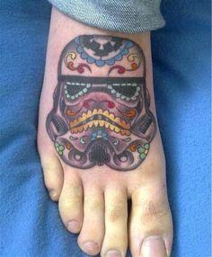 Star Wars Stormtrooper Sugar Skull Tattoo  Ink Art Tattoos.