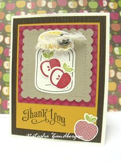 Perfectly Preserved.  Natasha Zandbergen.  Stampin' Up!
