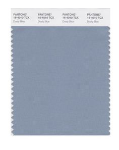 PANTONE 16-4010X Dusty Blue Wedding Color #1