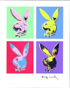 Andy Warhol - Bunny Multiple, c. 1985